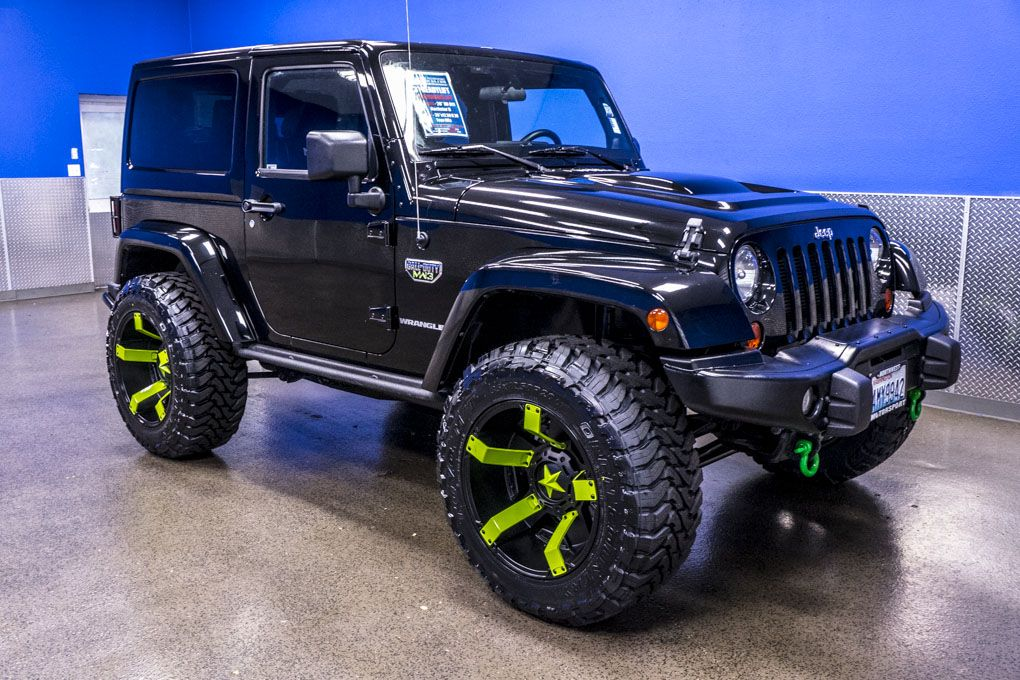 2012 Jeep Wrangler COD MW3 Rubicon 4x4 For Sale ...