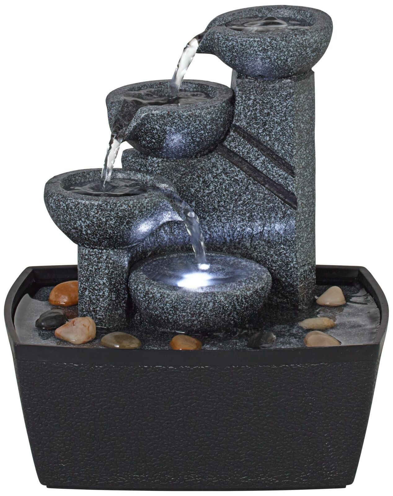 Indoor Water Fountain In 2020 Tabletop Fountain Indoor Water