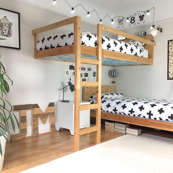 52 Wonderful Shared Kids Room Ideas For Boys and Girls images