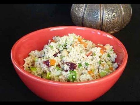 Couscous Salad - Healthy Lunch Recipe Video