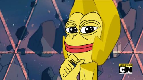 Pin By Luci Nagata On The Rarest Of Pepes Yellow Diamond Steven Universe Steven Universe Funny Steven Universe