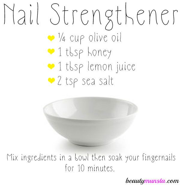 Photo of DIY Nail Strengthener for Strong, Healthy & Shiny Nails – beautymunsta – free natural beauty hacks and more!