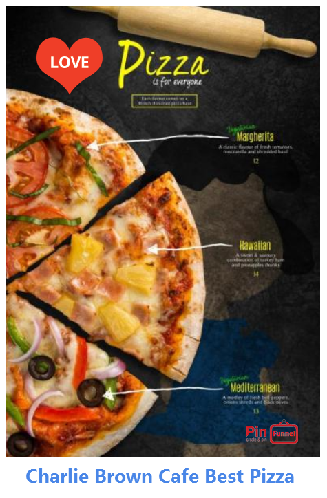 Singapore Best Pizza Promotion Offer 2018 At Charlie Brown Cafe Freshly Made Pizzas Are Halal Certified Visit T Charlie Brown Cafe Pizza Special Themed Cafes