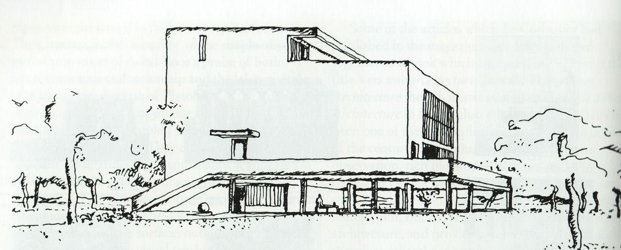 Le Corbusier Maison Citrohan   Architecture
