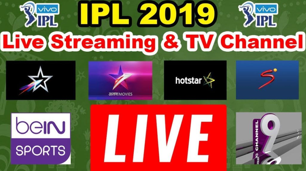 IPL Live Streaming 2019, IPL Live Match Today Watch