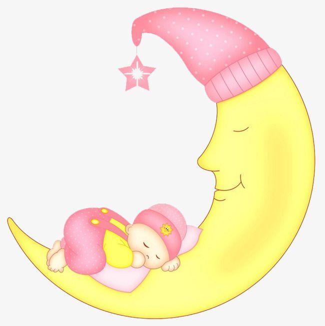 A Lua Bebe Dos Desenhos Animados Desenhos Animados Desenhos E