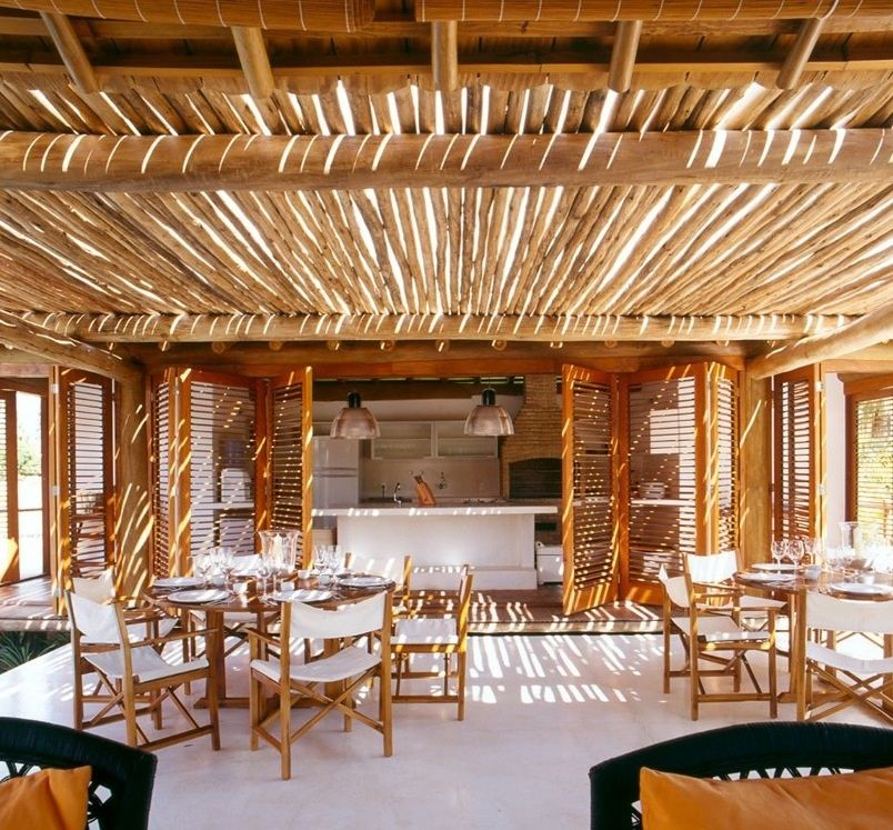 Cozinha integrada na sala e varanda rusticas pesquisa - Cortinas para casas rusticas ...