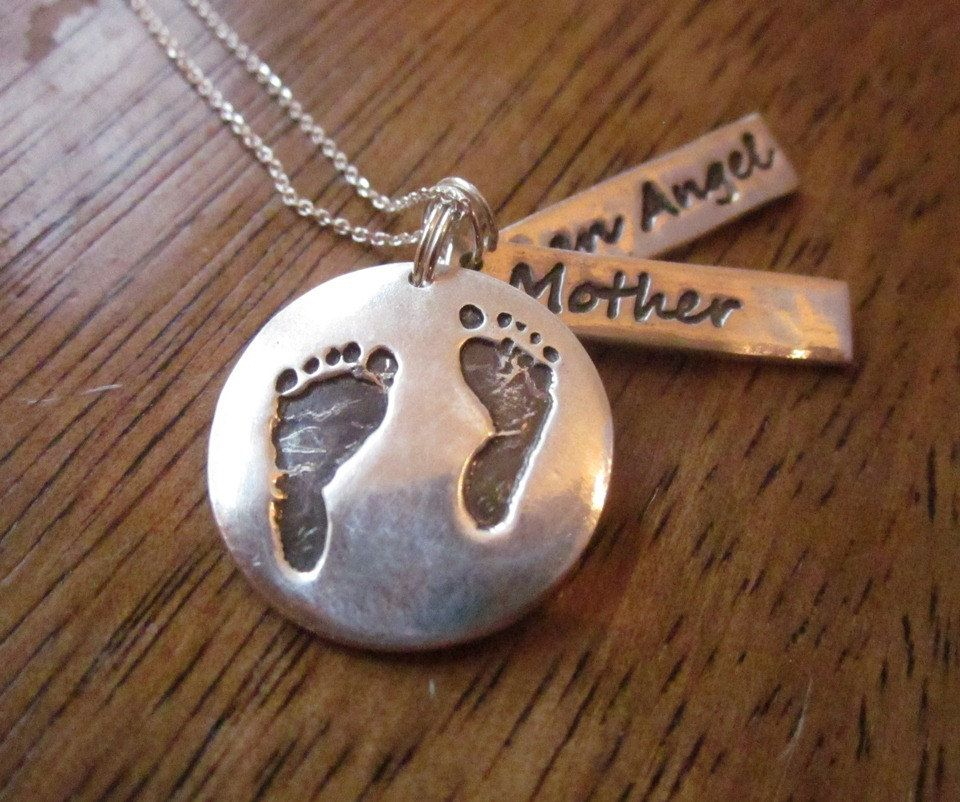 Miscarriage pendant necklace made from by customsilverpendants miscarriage pendant necklace made from by customsilverpendants 6000 aloadofball Choice Image