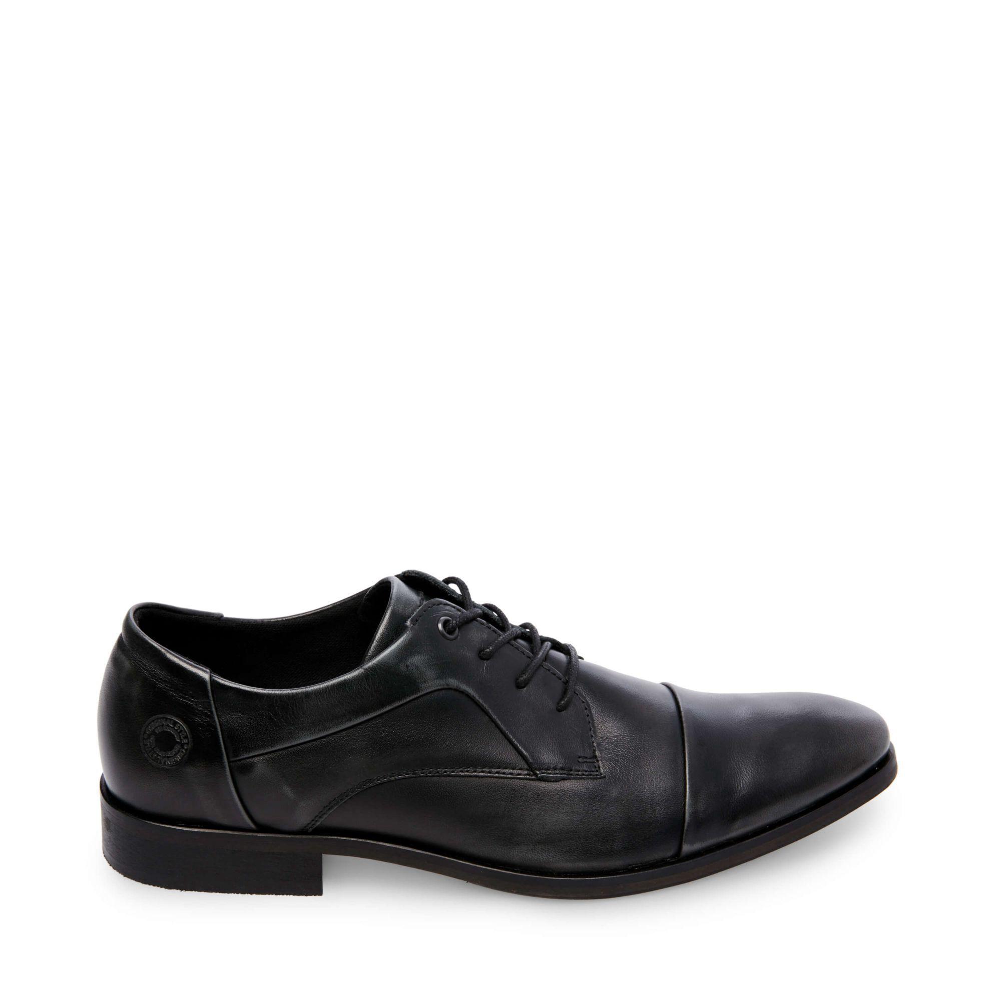 a0c3722696f Steve Madden Aqua - Black Leather 12.0