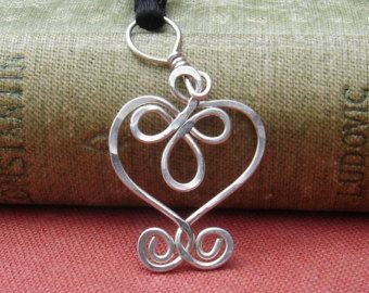 Budding Spiral Necklace, Mother\'s Day Celtic Sterling Silver Pendant ...