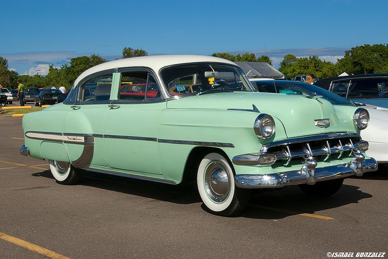 54 Bel Air In Surf Green I Wish Cars Still Came In This Color