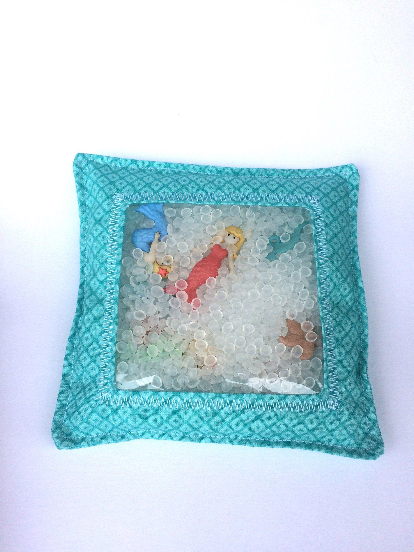 Turquoise Mermaid Child/'s Activity bag