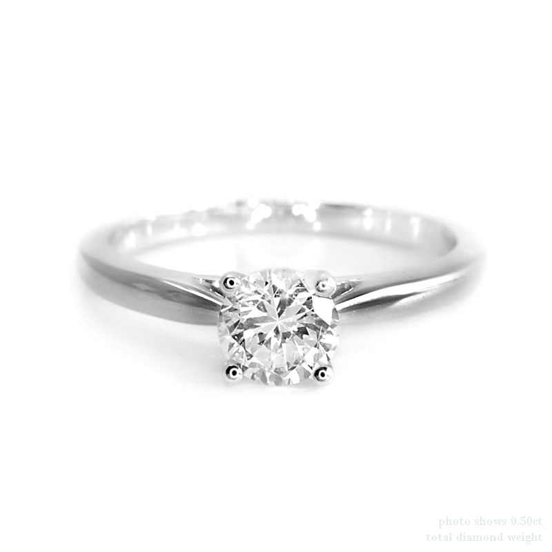Diamond Solitaire Engagement Rings Platinum 39