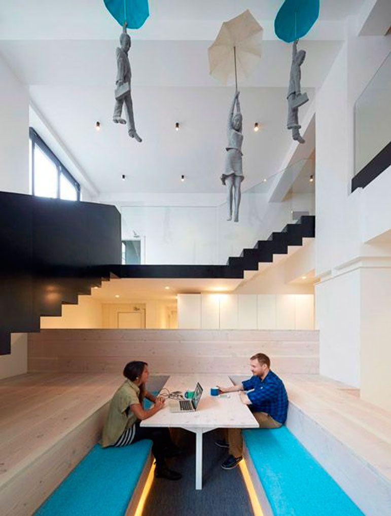 oficinas creativas spaces pinterest oficinas