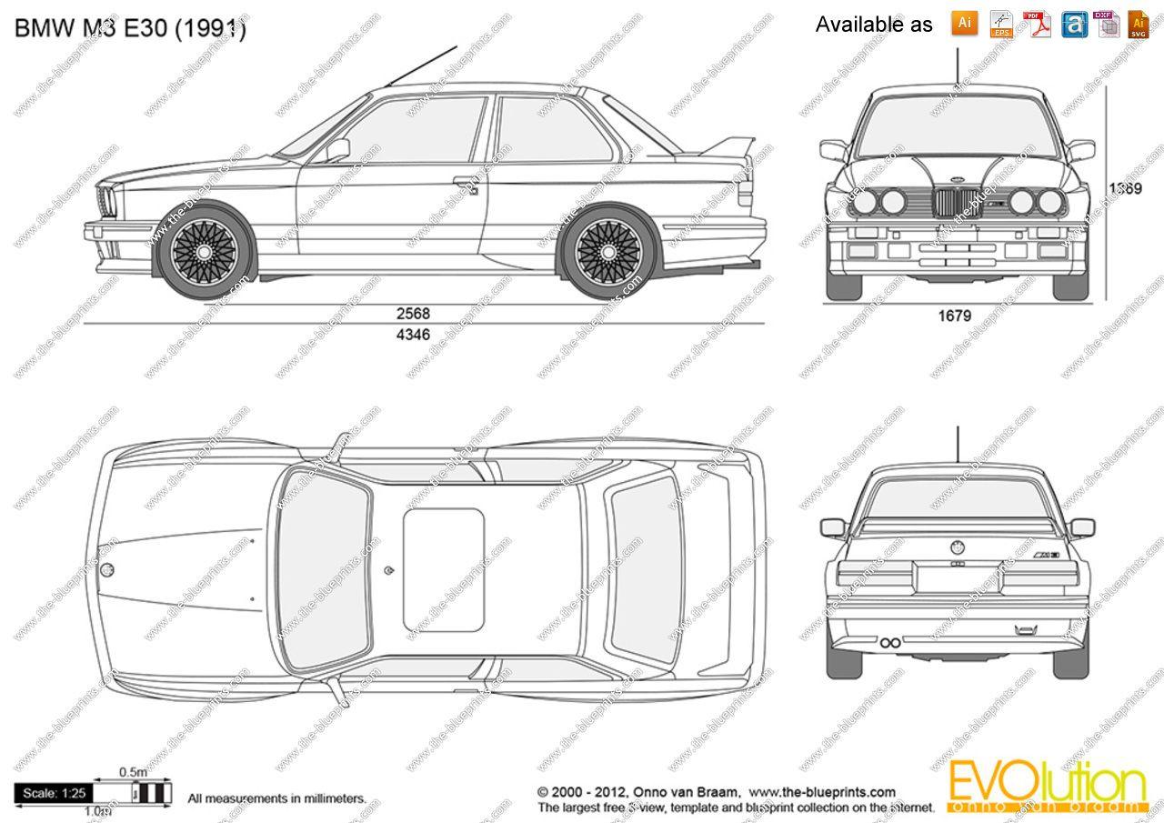 Image Of Bmw M3 Gtr E46 Blueprint Bmw M3 Gtr E46 Vector