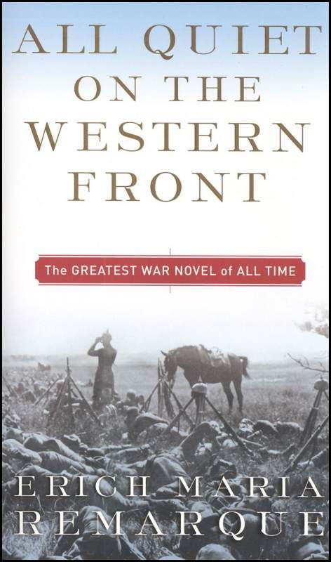 All Quiet on the Western Front essay help please?