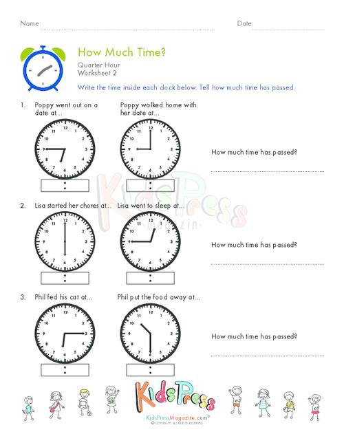 Telling Time Quarter Hour Worksheet 7 Pinterest Telling Time