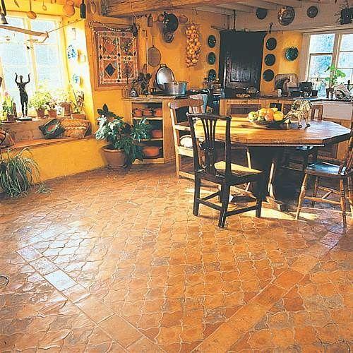 Whichford Pottery Fleur De Lys Floor Tile Tiles