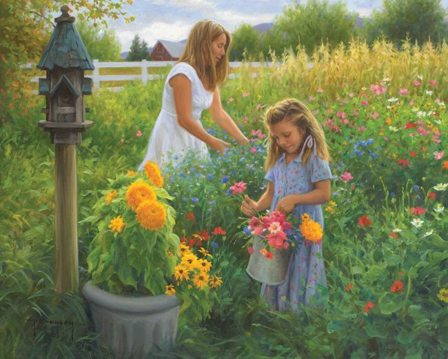 colors of summer by Robert Duncan