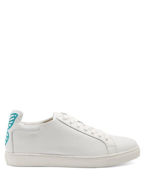 Bibi low-top leather trainers Sophia Webster qfocD