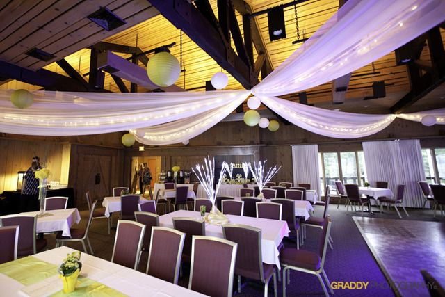 Wedding Reception Set Up At Maddens On Gull Lake Brainerd MN