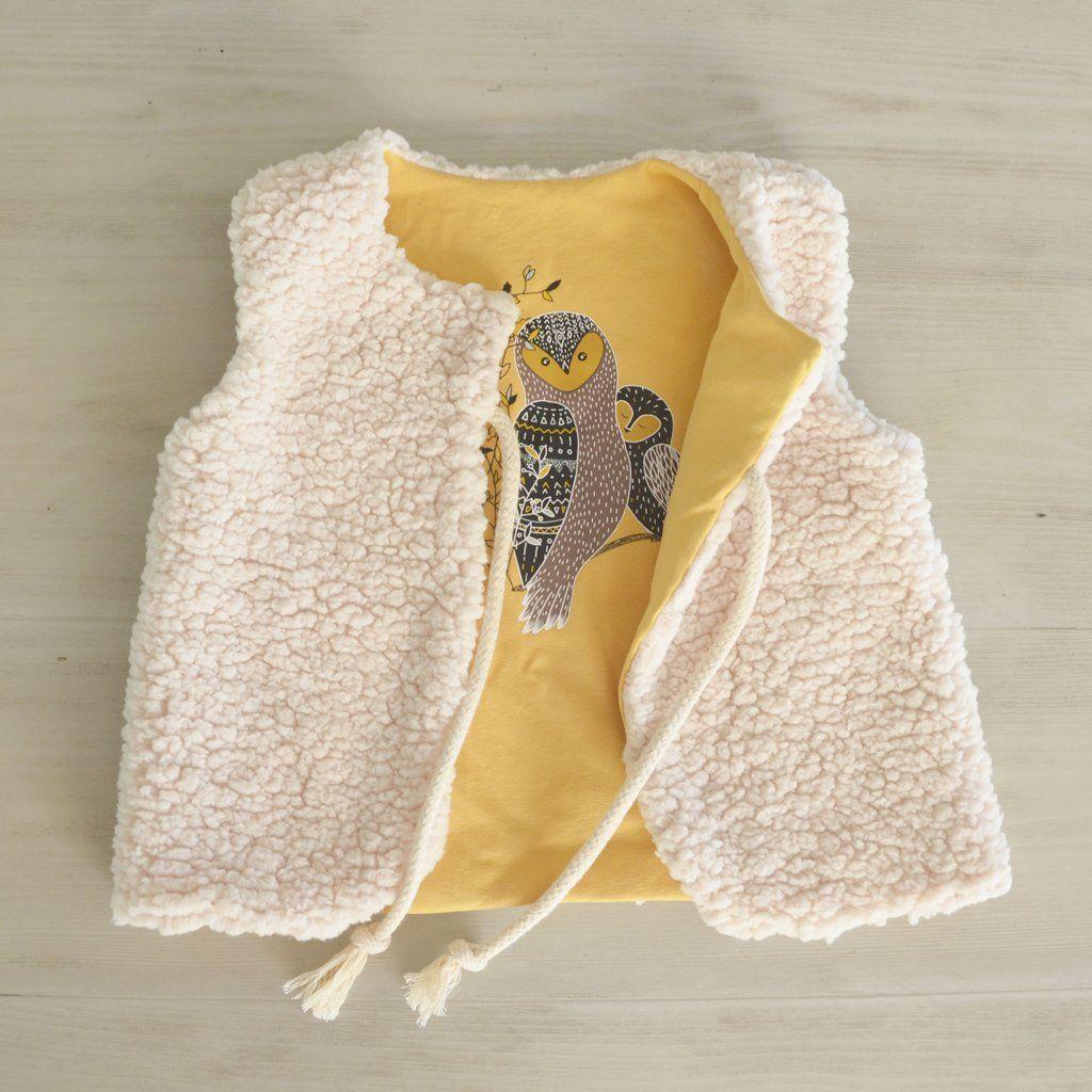 patron gratuit couture gilet de berger enfant b b enfants couture pinterest. Black Bedroom Furniture Sets. Home Design Ideas