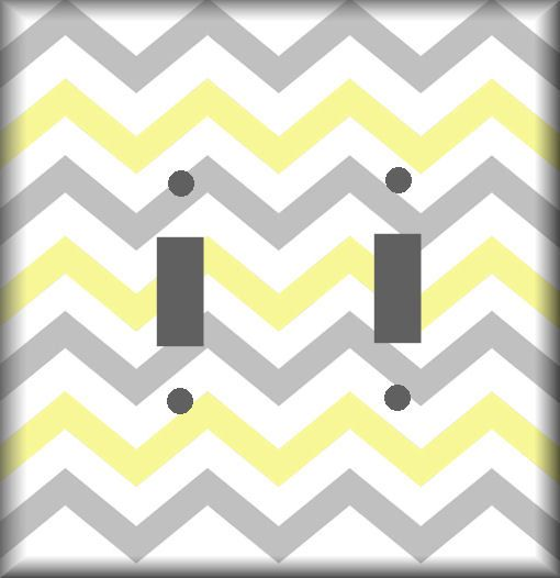 Strange Yellow And Gray Chevron Pattern Light Switch Covers Your Interior Design Ideas Truasarkarijobsexamcom