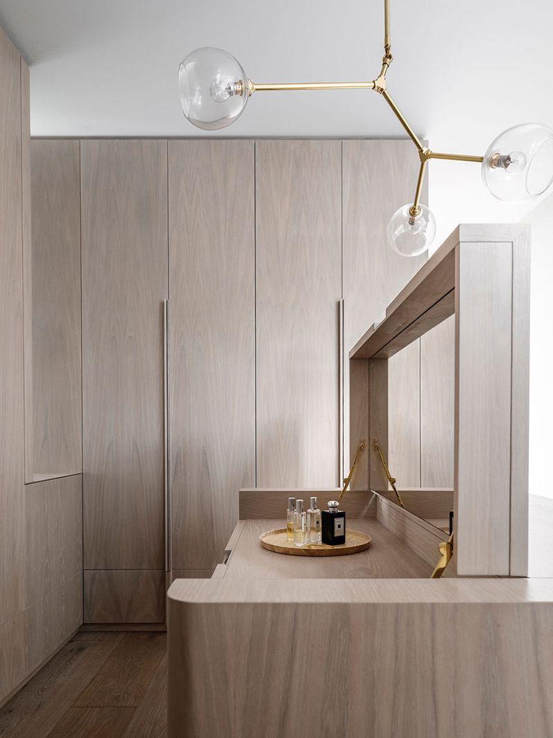 A minimal oak closet a merry mishap minimal interiors and