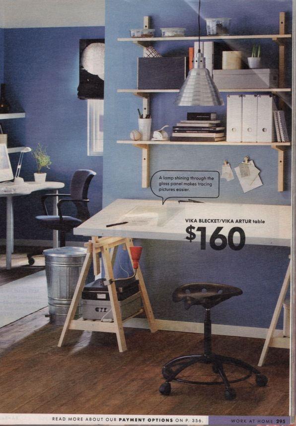 Ikea Vika Blecket Top With Vika Artur Legs