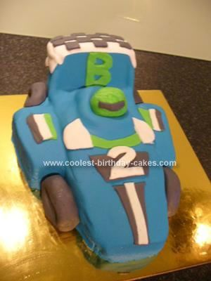 Coolest Racing Car Birthday Cake Birthday cakes Birthdays and Cars