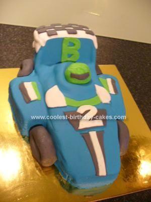 Car shaped birthday cake recipe