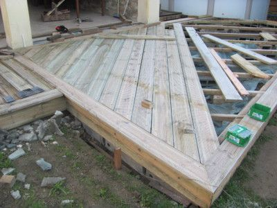 Blog de jackbricobois construction d une terrasse bois, d une - construction d une terrasse bois