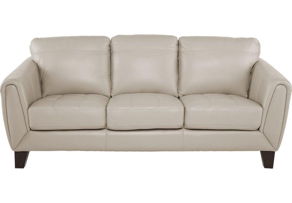 Livorno Beige Leather Sofa Sofa Beige Sofa Leather Sofa