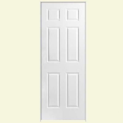 Masonite 30 In X 80 In Solidoor Textured 6 Panel Solid Core Primed Composite Single Prehung Interior Door 188 Prehung Interior Doors Doors Interior Slab Door