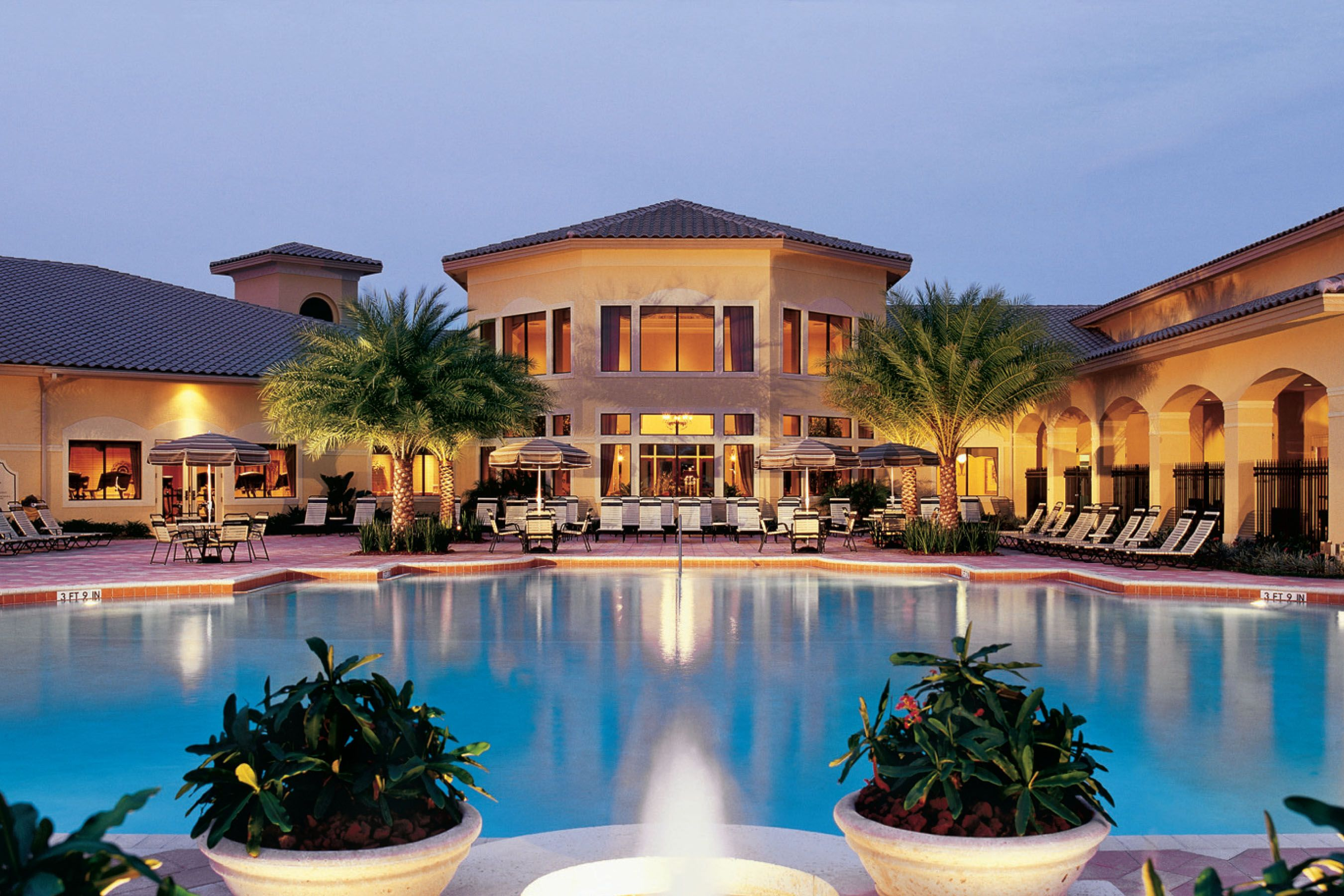 Valencia Ss Clubhouse And Pool Lake Worthpalm Beach