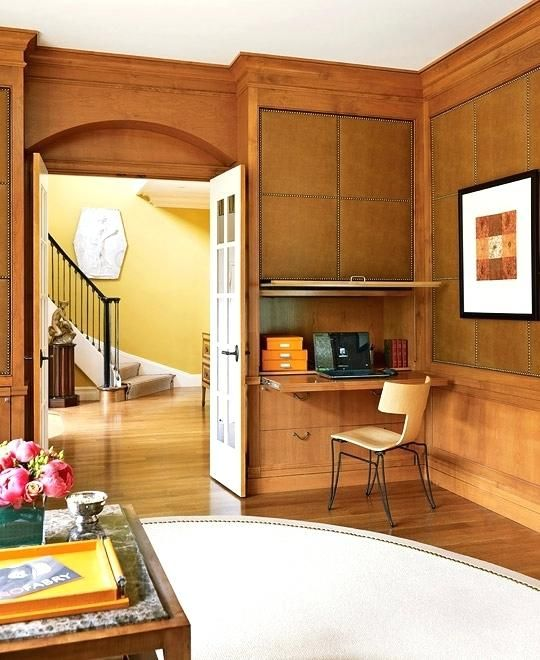 Traditional Home Office Design homedesigndecorlovers