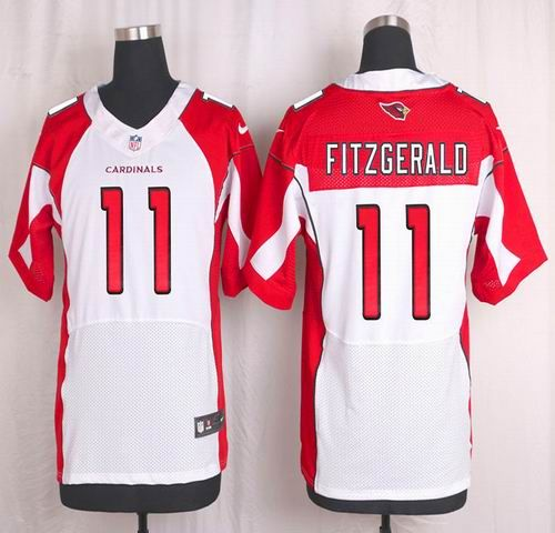 NFL Arizona Cardinals Mens Football Jersey Soccer Rugby Jerseys 11 Larry  Fitzgerald White Elite Jersey a928fabb1