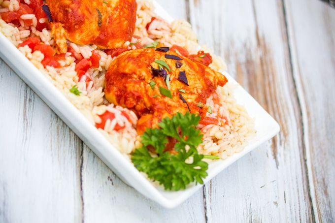 Summer Recipes Basil Tomato Butter Chicken 2