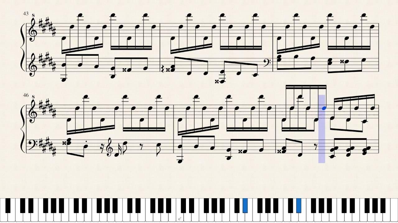 La Campanella By Franz Liszt Sheet Music Sheet Music Liszt Music