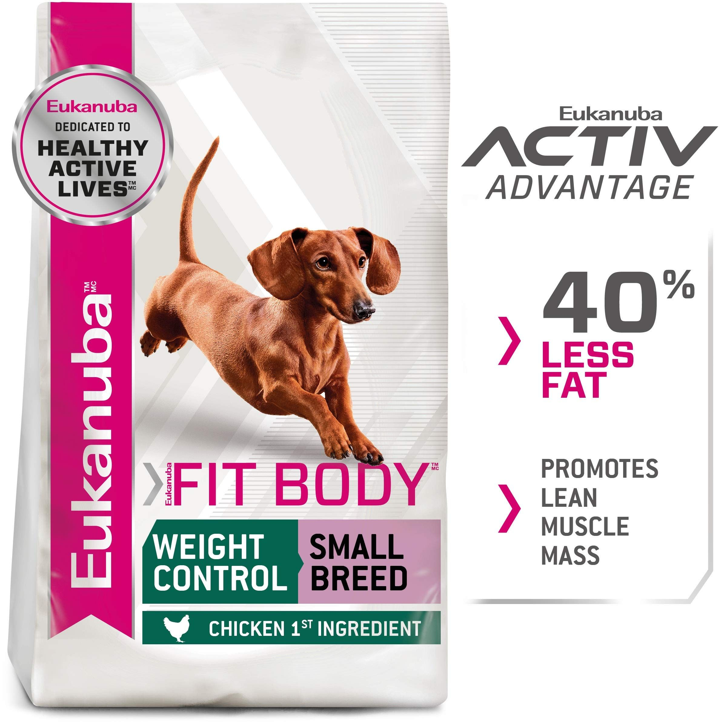 Eukanuba weight control small 15 pound in 2020 dog food