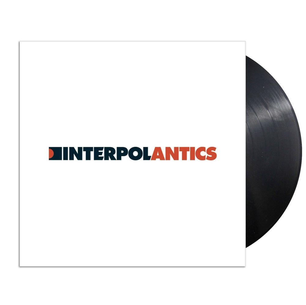 Interpol Antics Vinyl Lp Sealed New Black Vinyl Seal Ebay Store