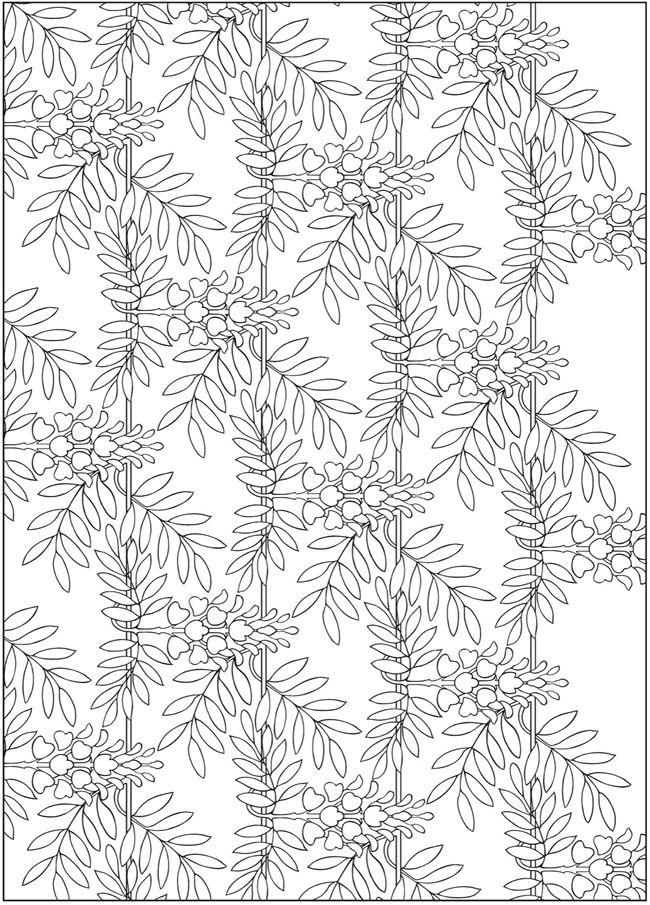 Welcome To Dover Publications Creative Haven Art Nouveau Nature Designs Coloring Book Designs Coloring Books Coloring Books Art Nouveau Pattern