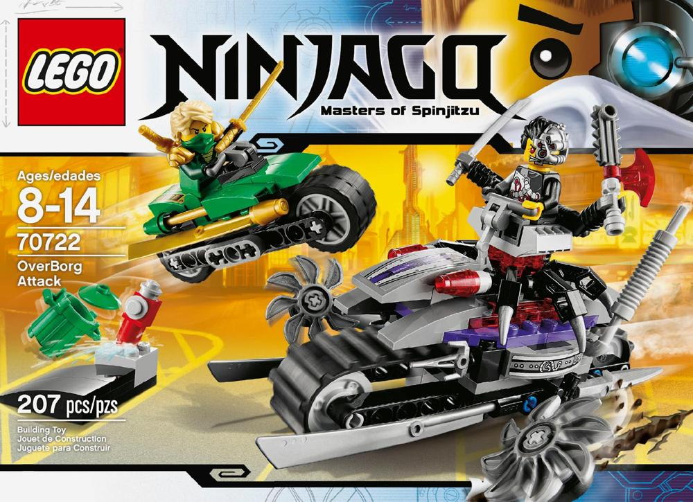 "A recently released image of a new Lego ""Ninjago"" set, ""70722 ..."