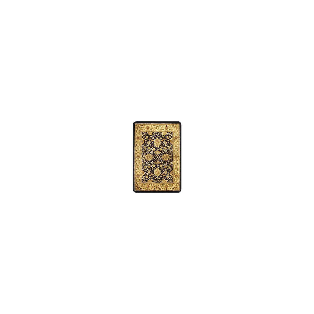 Deflecto harbour pointe decorative chair mat for hard