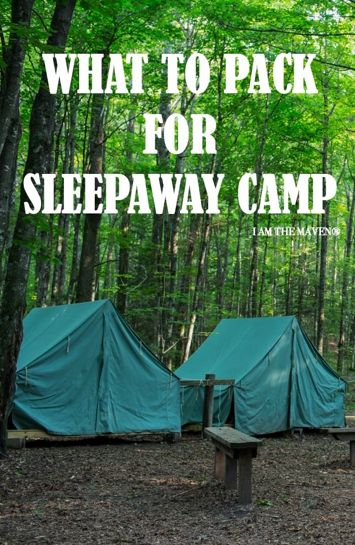 Packing list for summer camp. | Sleepaway camp, Camping ...