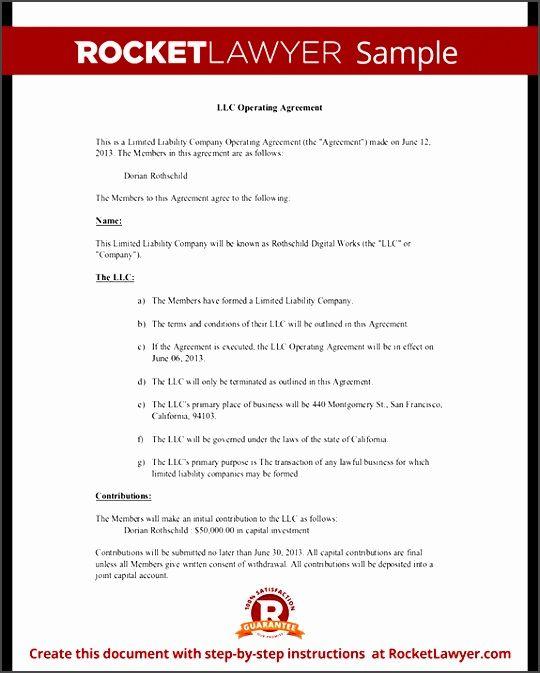 Texas Llc Operating Agreement Template Zshu Elegant Llc Operating - Llc operating agreement texas