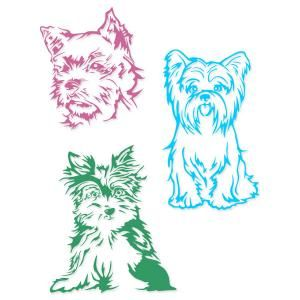 Yorkshire Terrier Dog Yorkie Lined Art Cuttable Design Cut File. Vector, Clipart, Digital Scrapbooking Download, Available in JPEG, PDF, EPS, DXF and SVG. Works with Cricut, Design Space, Sure Cuts A Lot, Make the Cut!, Inkscape, CorelDraw, Adobe Illustrator, Silhouette Cameo, Brother ScanNCut and other compatible software.