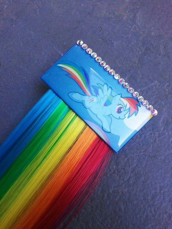 Rainbow Dash Hair : rainbow, Rainbow, Little, Party,, Dash,, Party