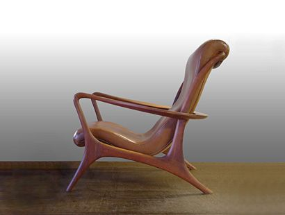 I love the lines of this chair.