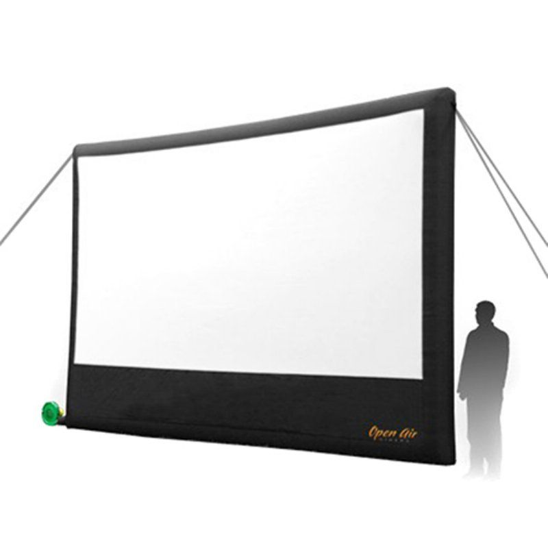 Open Air Cinema 16 ft. Inflatable Home Screen - Outdoor Audio and ...